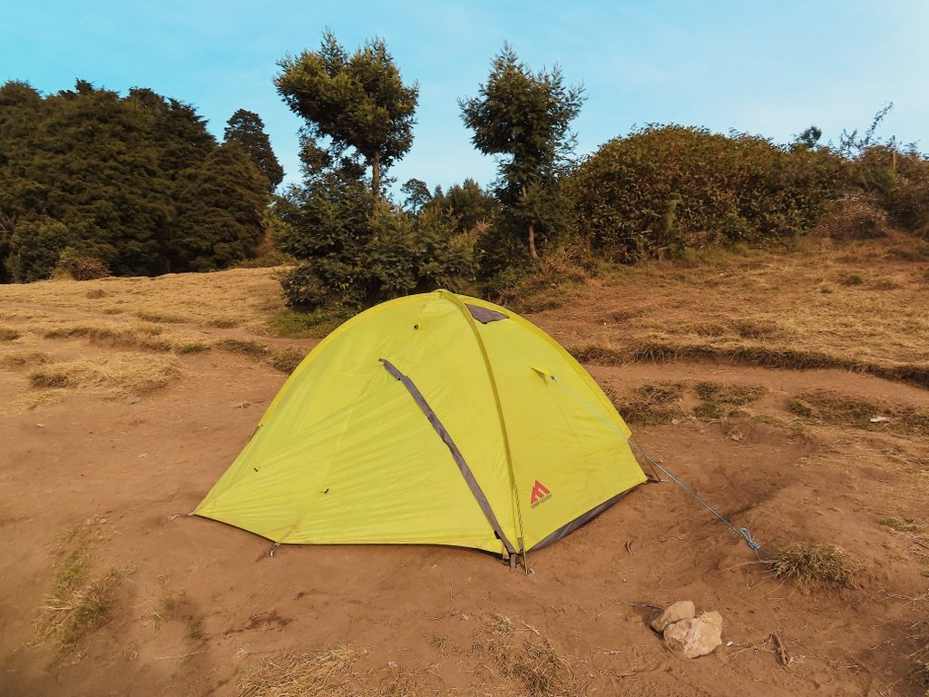Tenda di Gunung Prau