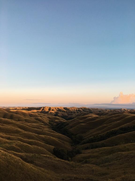 Sunrise di Wairinding Sumba