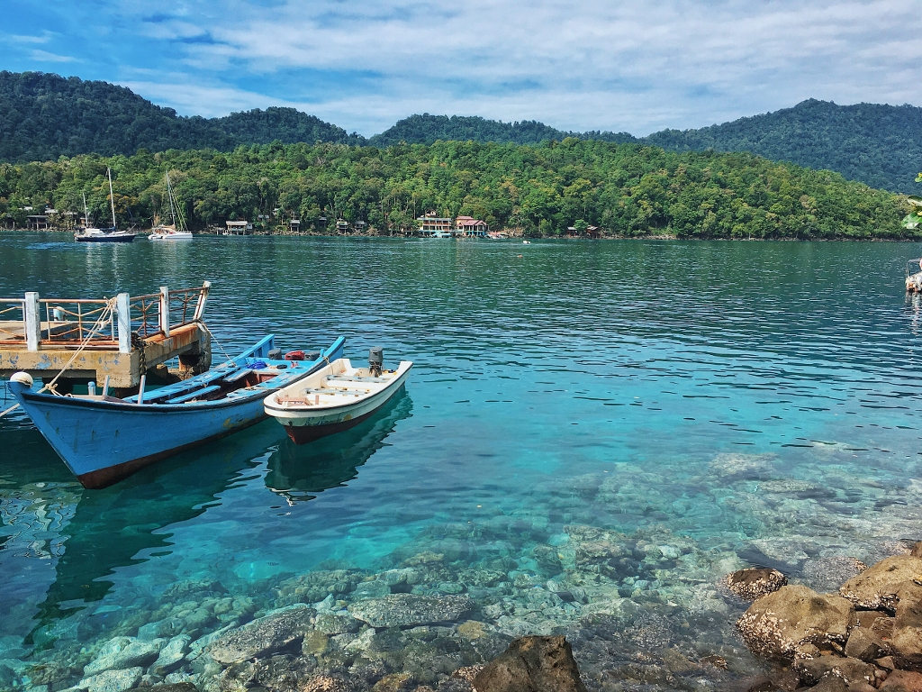 Dermaga Pulau Rubiah