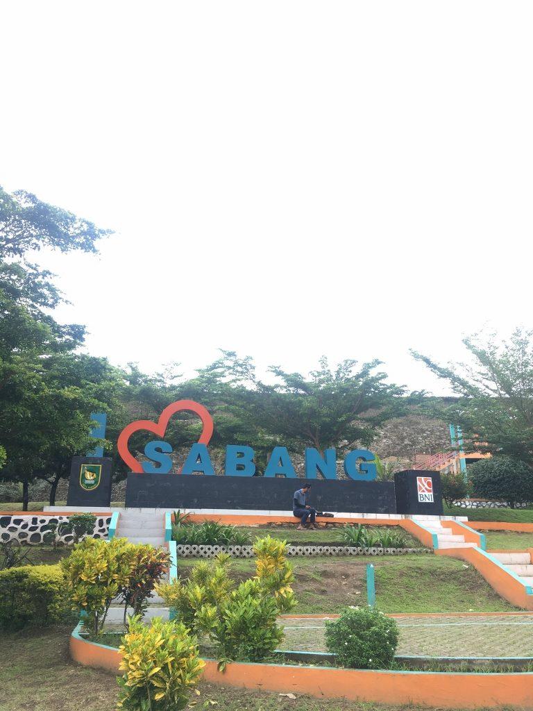 Taman I Love Sabang