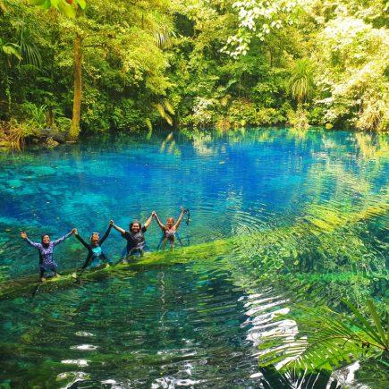 Telaga Biru Biak Papua