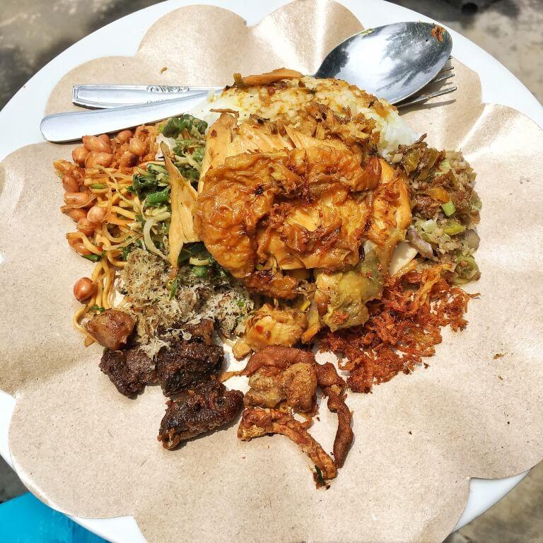 Nasi Campur Warung Mek Juwel Ubud