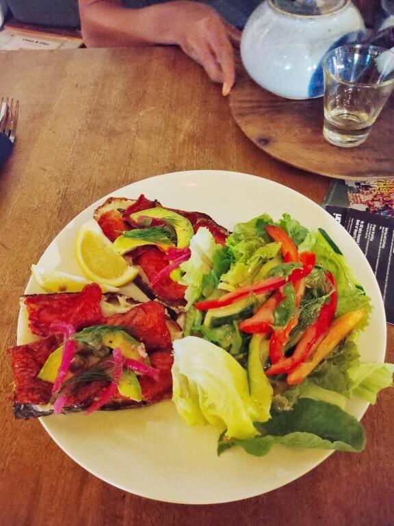 Norwegian style sandwich - Sayuri Healing Food Ubud