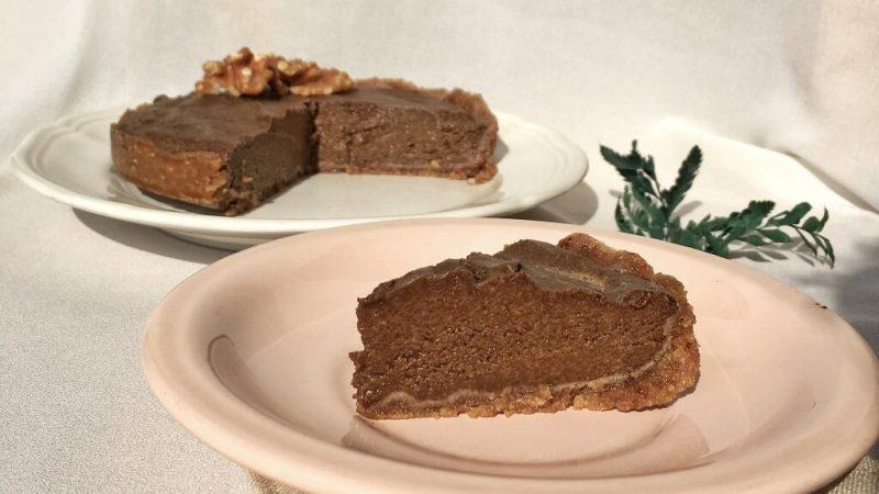 Dessert – Recipe Raw Vegan Chocolate Tart